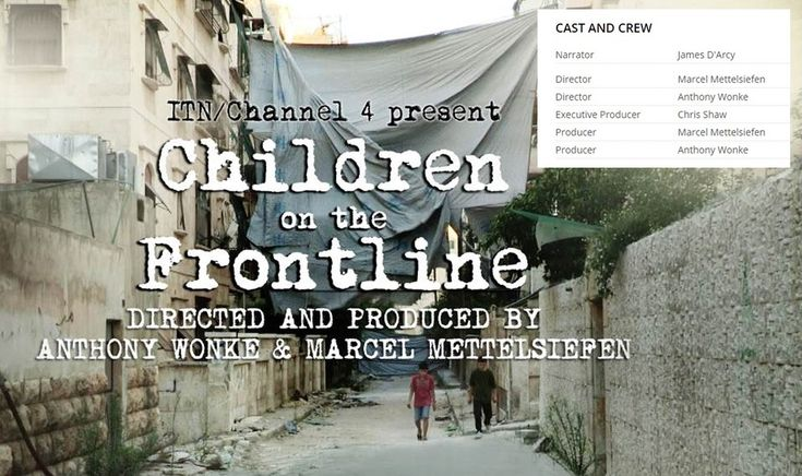 Awards for Children on the Frontline to date and to watch the documentary. Double clicking the pic will take you to the site.