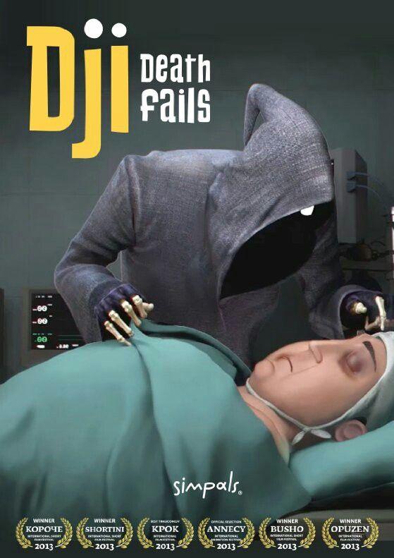 Dji. Death Fails by Dmitri Voloshin Animation / Comedy