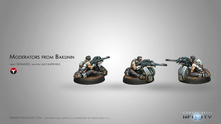 Moderators from Bakunin (MULTI Sniper Rifle)