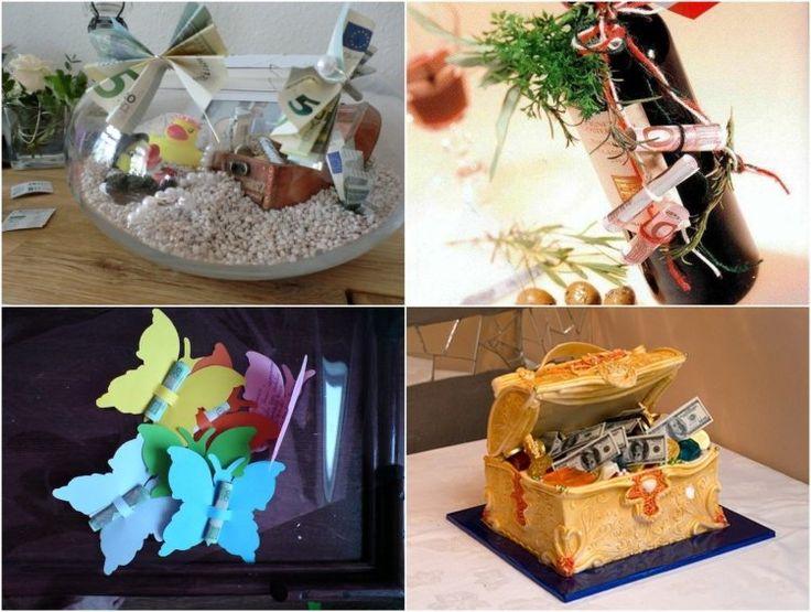 geschenke mit geld kreativ verpackt geschenk geschenke geldgeschenke hochzeit und geld. Black Bedroom Furniture Sets. Home Design Ideas