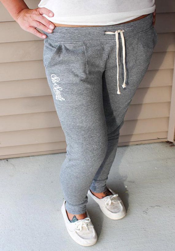 Personalized Ladies boyfriend sweatpants Super soft eco fleece sweatpants. Feel great on the skin, luxurious feel, great pants for a workout or