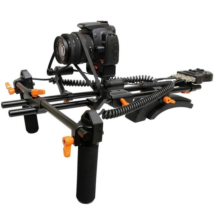 Opteka FFR-900 Motorized Remote Follow Focus & Zoom Controller with Shoulder Support Rig for DSLR Cameras & Camcorders