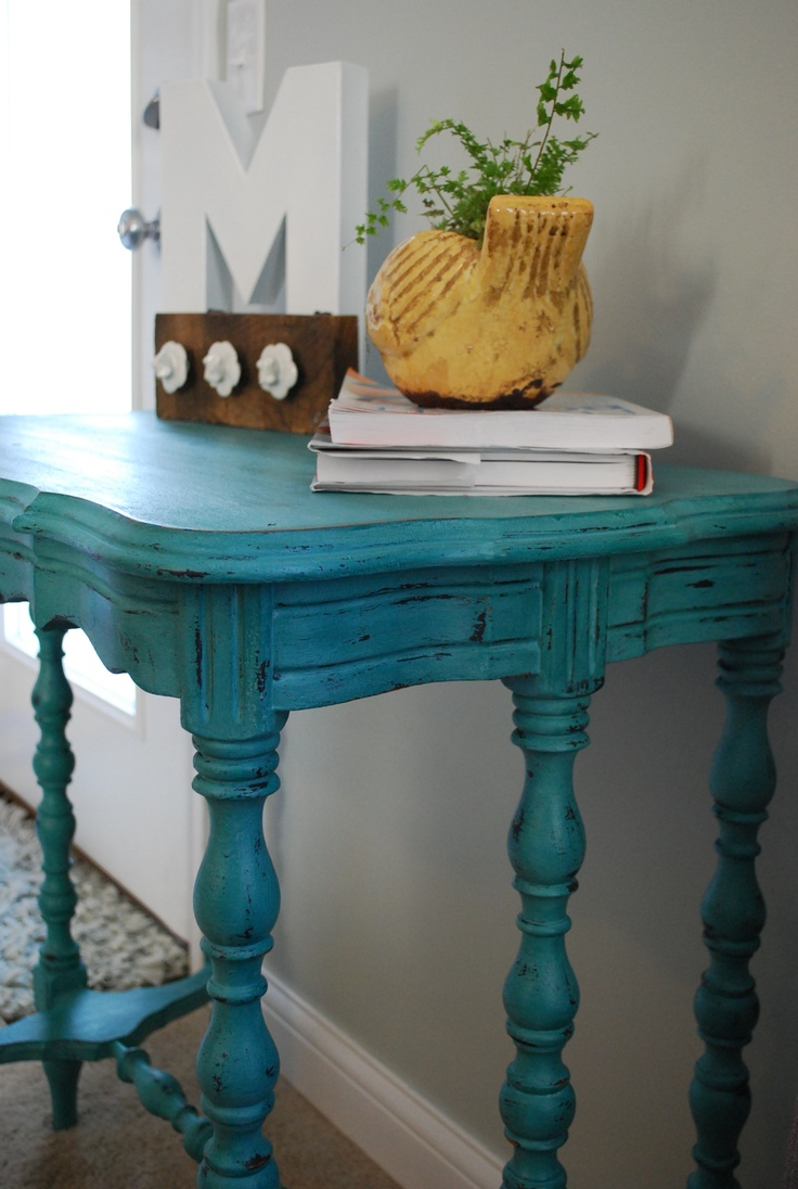 28 best images about turquoise on pinterest furniture for Teal kitchen table