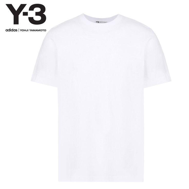 Y-3 ワイスリー tシャツ カットソー 半袖。[送料無料] Y-3 ワイスリー Y-3 CLASSIC TEE / WHITE [CF0444] 2017年AW 新作 tシャツ カットソー ショートスリーブ 半袖 メンズ|レディース ユニセックス 正規品 高品質 ブランド おしゃれ ストリート コットン ロゴ ホワイト[I](A)