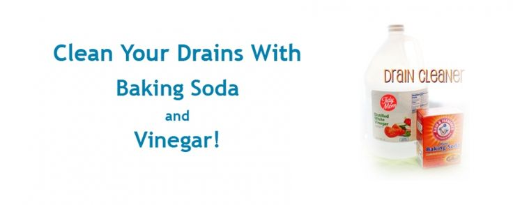 #Plumbing #DIY: Clean Your #Drains With Baking Soda and Vinegar!