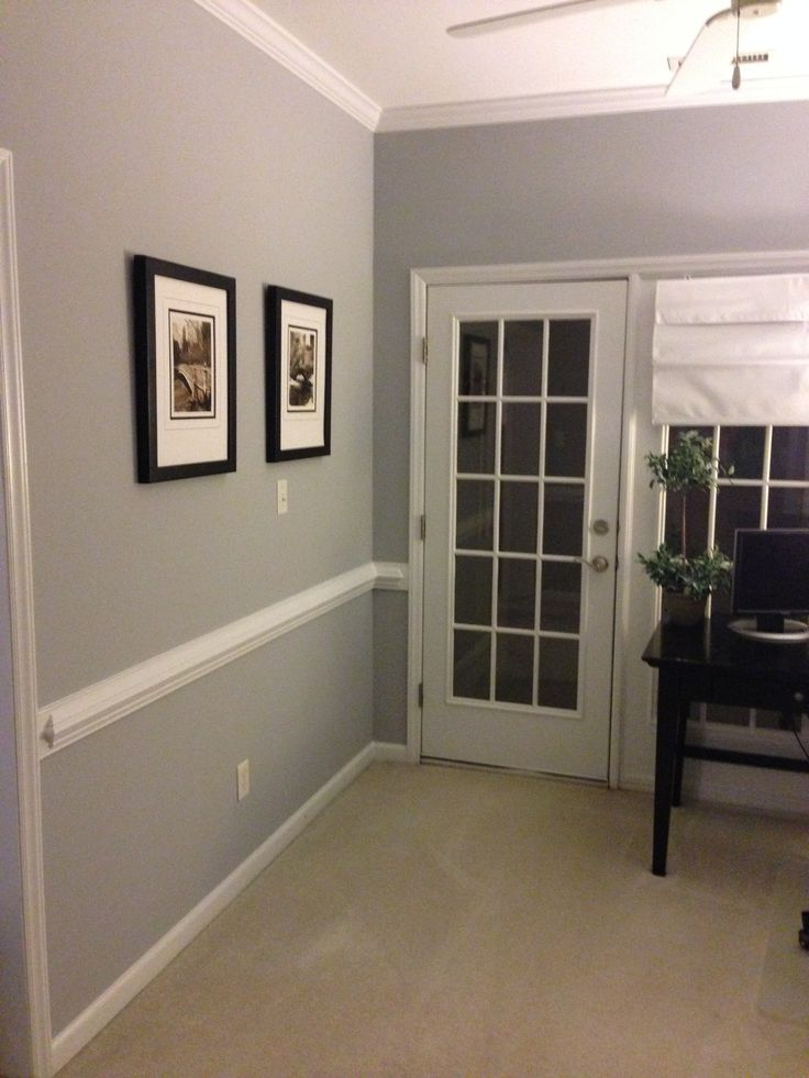 Best 25 lazy gray sherwin williams ideas on pinterest sherwin williams lazy gray carrera - Gray interior paint ...