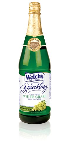 Recipe for Homemade Sparkling grape juice. A bottle of Fresca, and a can of frozen grape juice concentrate.