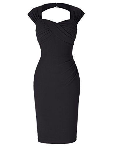 Pinup Women's 50's Bodycon Dresses for Church Knee-Length... https://www.amazon.com/dp/B01LAZ455O/ref=cm_sw_r_pi_dp_x_DZD5zbT5XFFRA