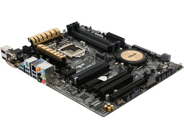 ASUS Z97-A/USB 3.1 LGA 1150 Intel Z97 HDMI SATA 6Gb/s USB 3.1 ATX Intel Motherboard