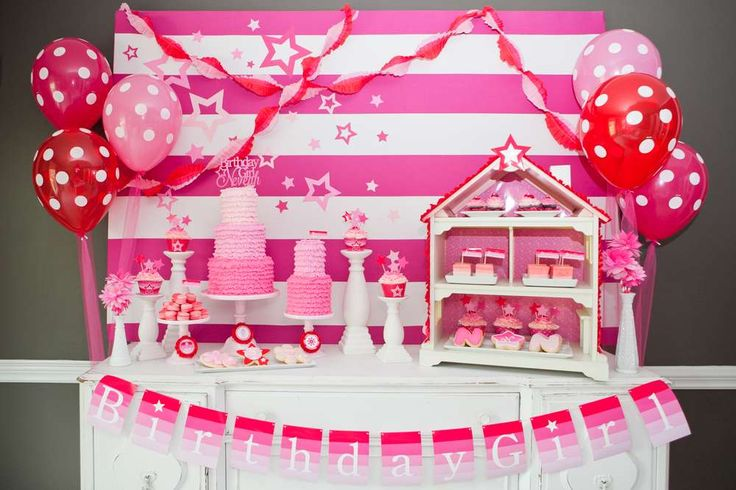 American Girl Inspired Party | CatchMyParty.com