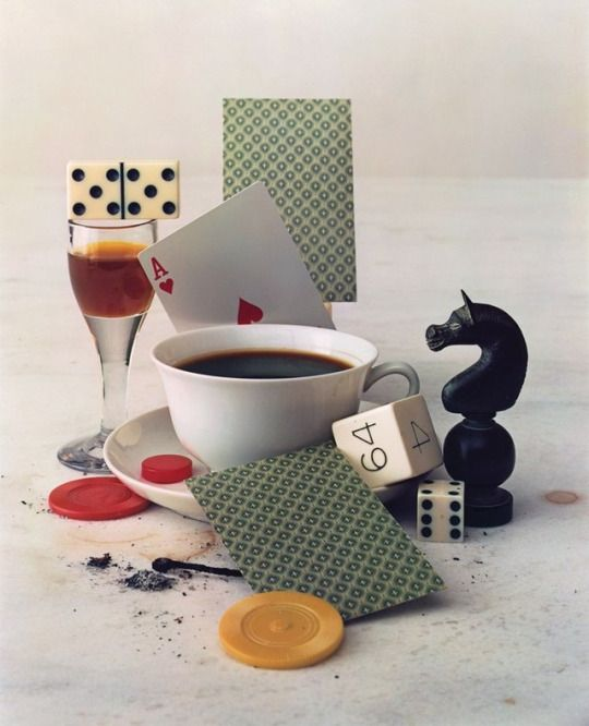 """""""after-dinner games"""" by irving penn NYC 1947."""