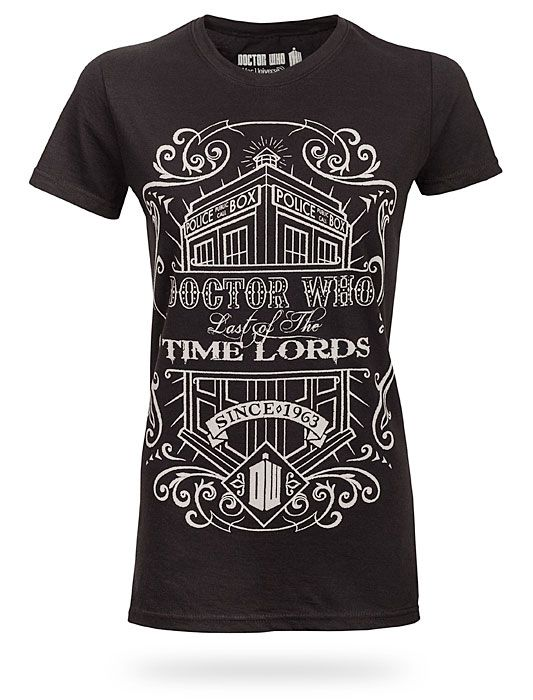 Time Lords Vintage Ladies Tee