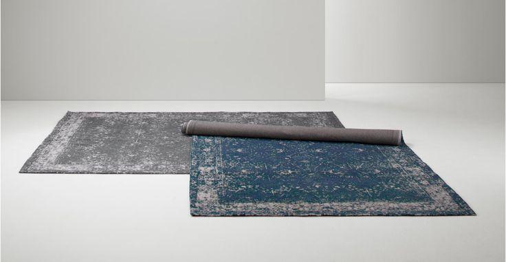 Yolanda, tapis à motif persan délavé 160 x 230 cm, gris charbon | made.com