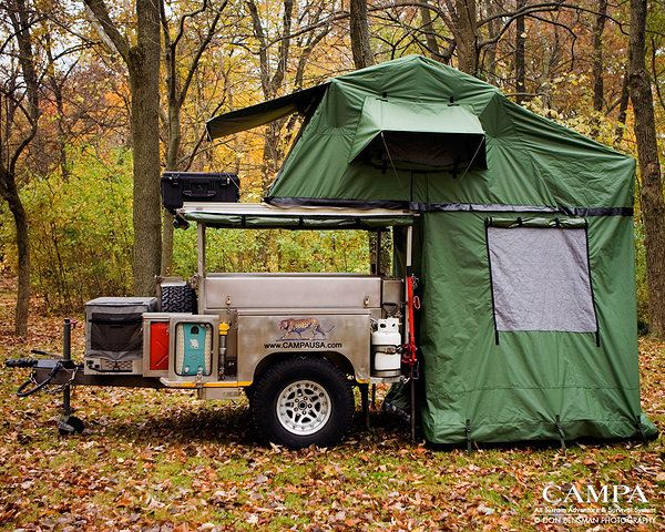 Campa USA | All Terrain Trailers | Camping Trailer | kitchen