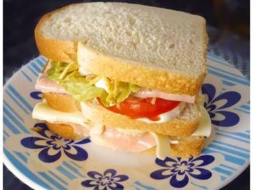 Sanduíche natural simples e delicioso - Tudo Gostoso
