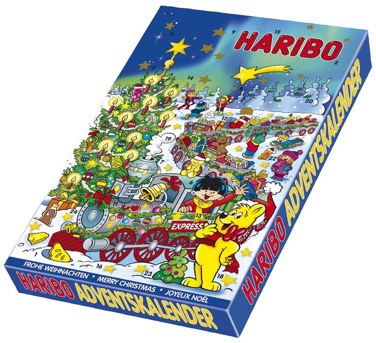 #Haribo #Adventskalender, 1-er Pack (1 x 300 g): Amazon.de: Lebensmittel & Getränke