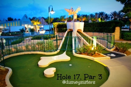 Disney Fantasia Gardens 18 Holes Magical Miniature Golf