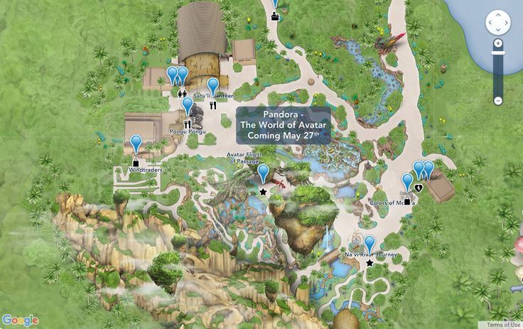 "In preparation for the May 27th opening of Pandora – The World of Avatar, Disney has just updated the ""My Disney Experience"" app and website to include the interactive map of Pandora. This new land will be located to the West of the main entrance of Animal Kingdom. Guests will be able to enter Pandora …"
