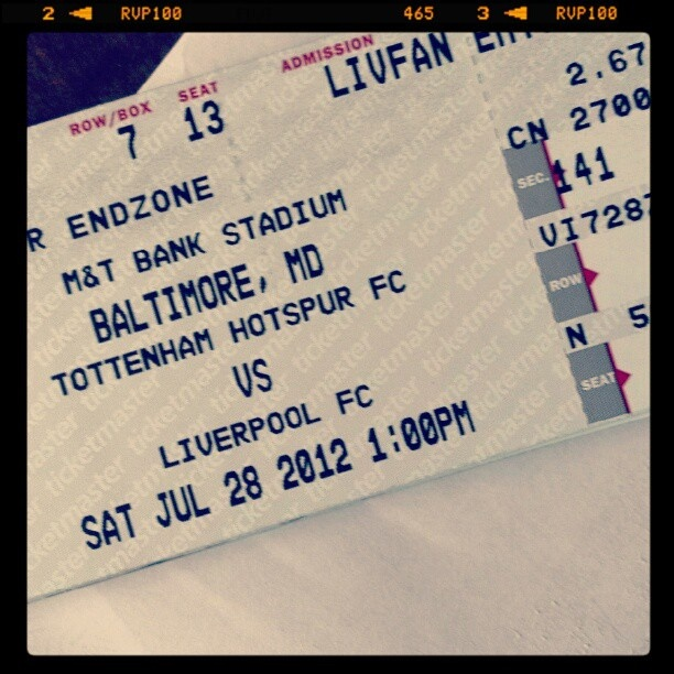 i'll be there..!! LFC North America Tour