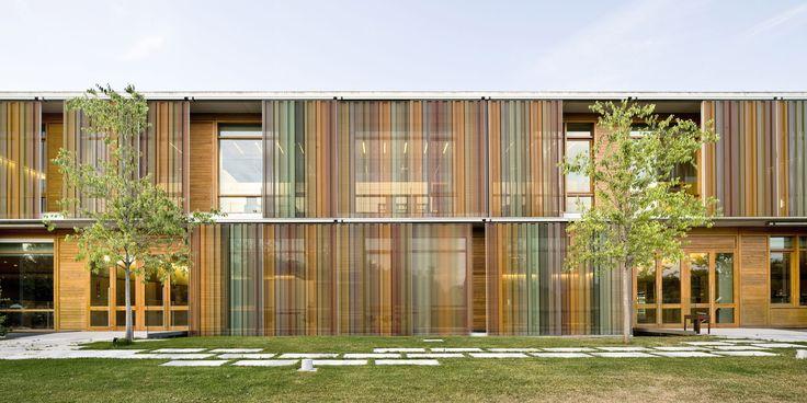12 best colour architecture images on pinterest colour - Arquitectos terrassa ...