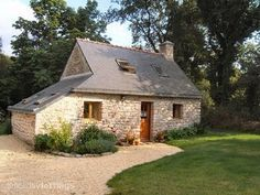 """The Small Stone House"", La Petite Maison En Pierre, in Le Faouet, central Morbihan, Brittany. For rent"