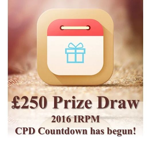 Have you heard about IRPM giving away £250 vouchers of your choice? 9 weeks left! http://buff.ly/2eVDCUv