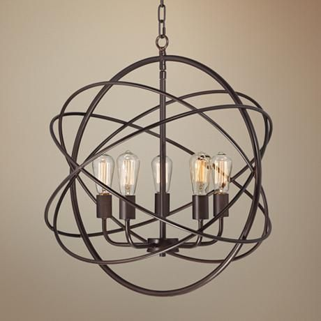 Add Drama And Updated Industrial Style Lighting To Your