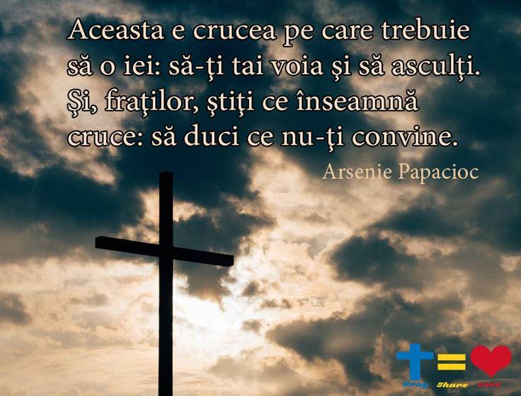 https://www.facebook.com/praysharelove/ Știți ce înseamnă cruce: să duci ce nu-ți convine. #cruce #Dumnezeu #praysharelove