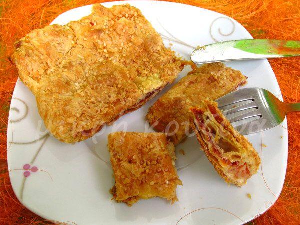 μικρή κουζίνα: Παστουρμαδόπιτα