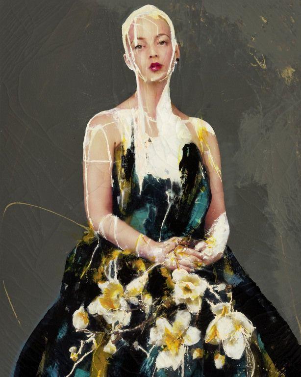 Lita Cabellut - Contemporary Artist - Portrait Painting - Impulse