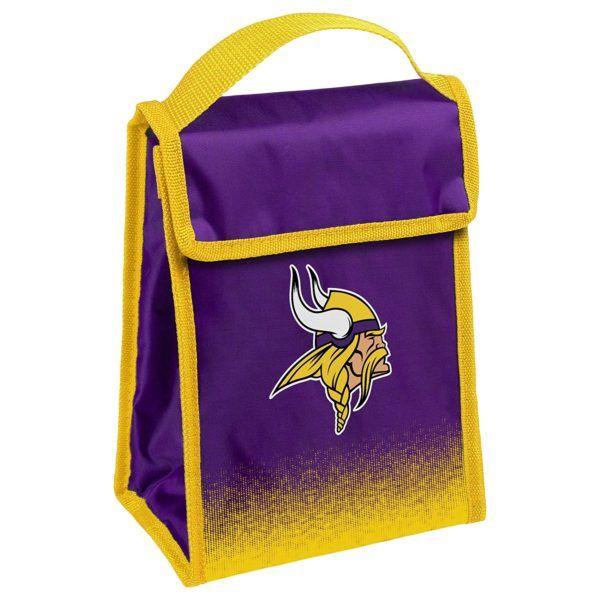 NFL Minnesota Vikings Big Logo Lunch Bag