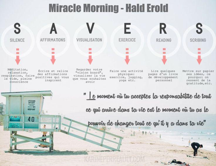 Ce que le livre «Miracle morning»  de Hal Erold m'a apporté…