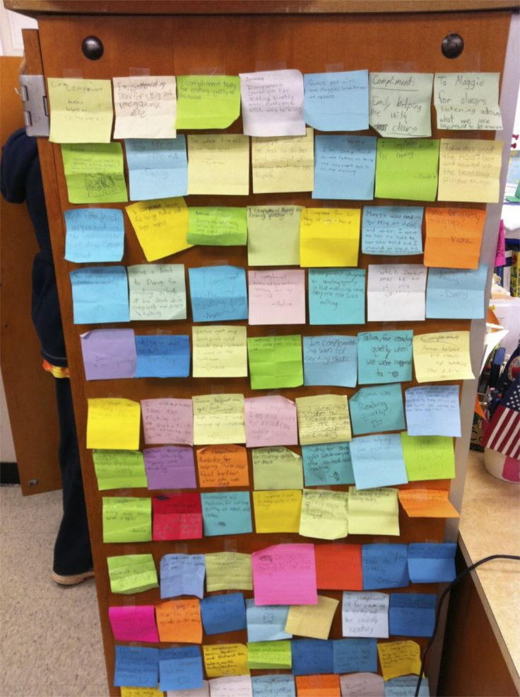 compliment wall. We did something similar on the all girl retreats in the past.