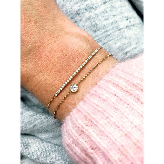 Who doesn't love baby pink. #imaginjewels classic collection. June & Lino our classics #bracelets