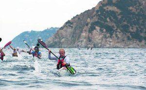Ribadesella se apunta a la moda del Surf Ski