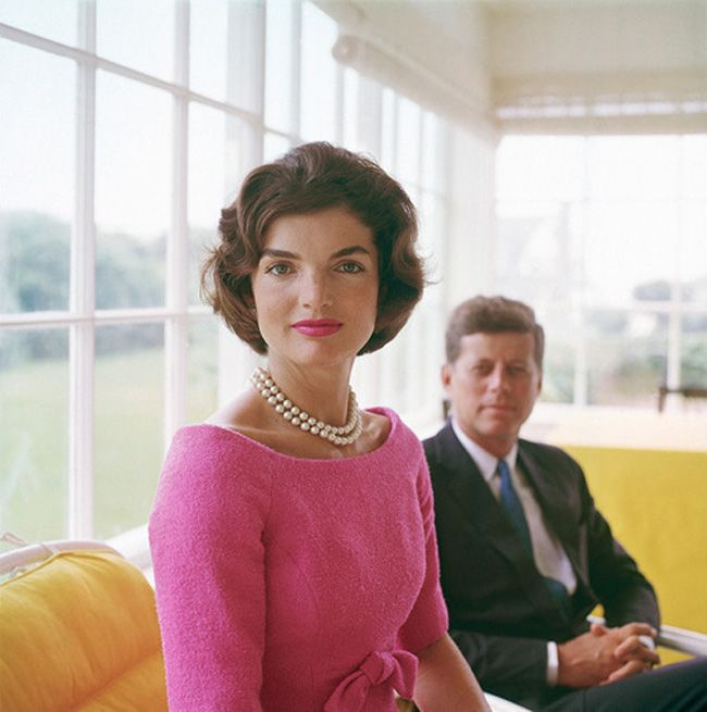Jackie OJohn Kennedy, Jackie Kennedy, The Kennedys, John F Kennedy, Beautiful, Style Icons, Pink, Jacqueline Kennedy, First Lady