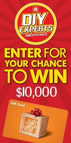 Win $10,000 For Your DIY Project