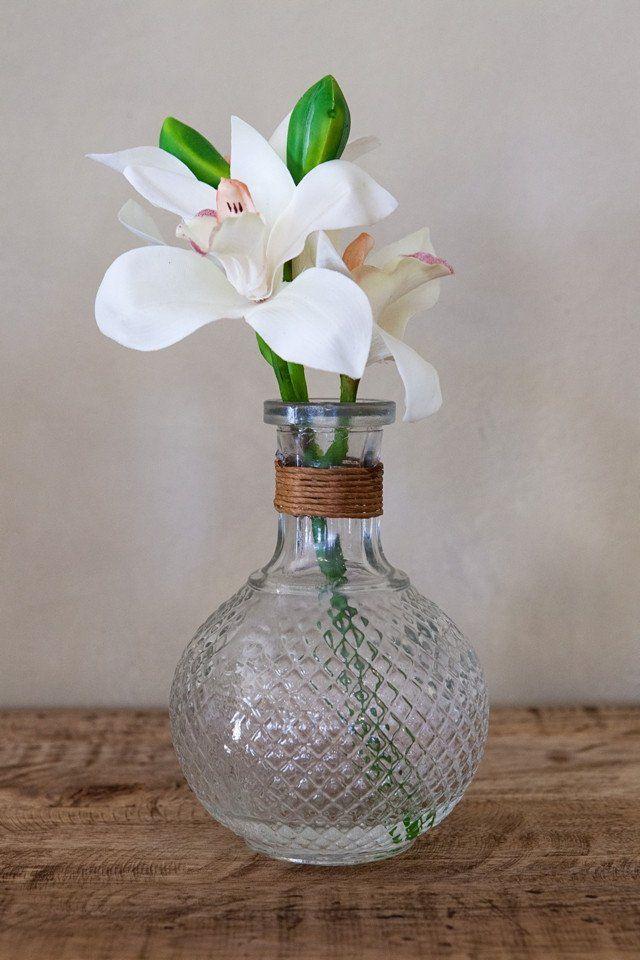 Cymbidium in Glass Pot