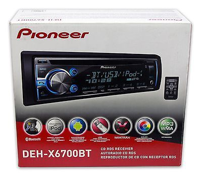 Audio Video Remotes: Pioneer Deh-X6700bt 50 Watts X 4 Channels Bluetooth Iphone Cd Player Usb Aux** -> BUY IT NOW ONLY: $89.99 on eBay!