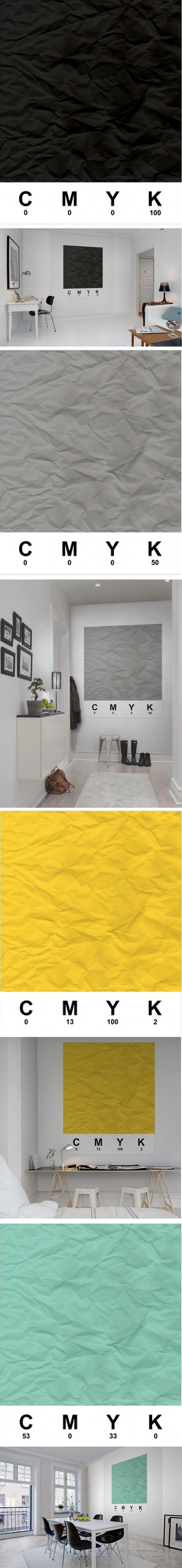 CMYK wallpaper _ rebelwalls cmyk | http://rebelwalls.com/ #rebelwalls #wallpaper #cmyk