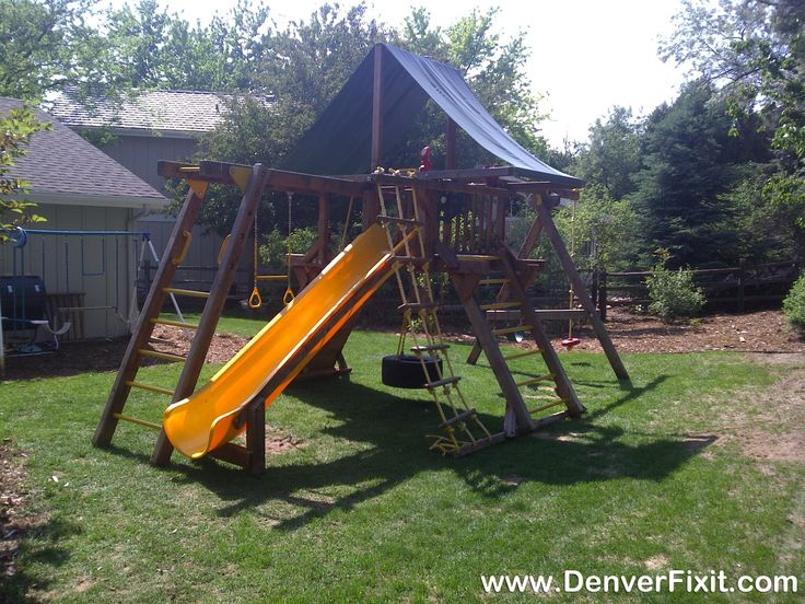Another Great Conditioned Used Rainbow Castle Package Successfully  Relocated To Golden, CO.