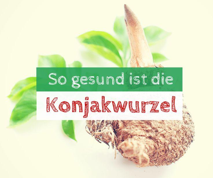 Ob in Form von Nudeln, Kapseln oder Mehl, die Konjakwurzel ist gesund. Wir erklären die Wirkung und warum die Konjakwurzel gesund ist.