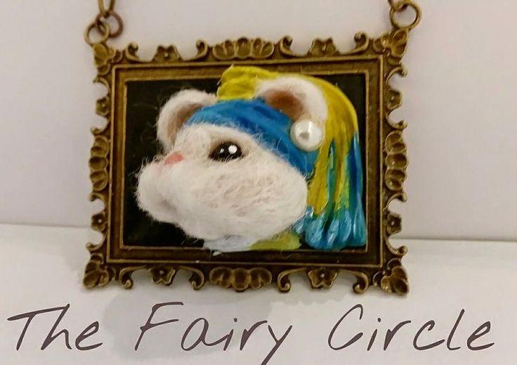 """The Fairy Circle - My ooak : Topini d'Autore: La """"topastra"""" con l'orecchino di ..."""
