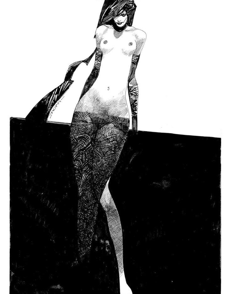 Untitled by Sergio Toppi