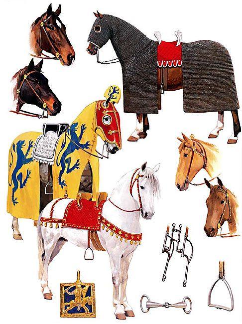 English Knights - Horses