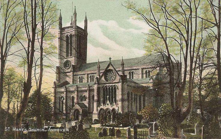 St Mary, Andover, Hampshire, England.