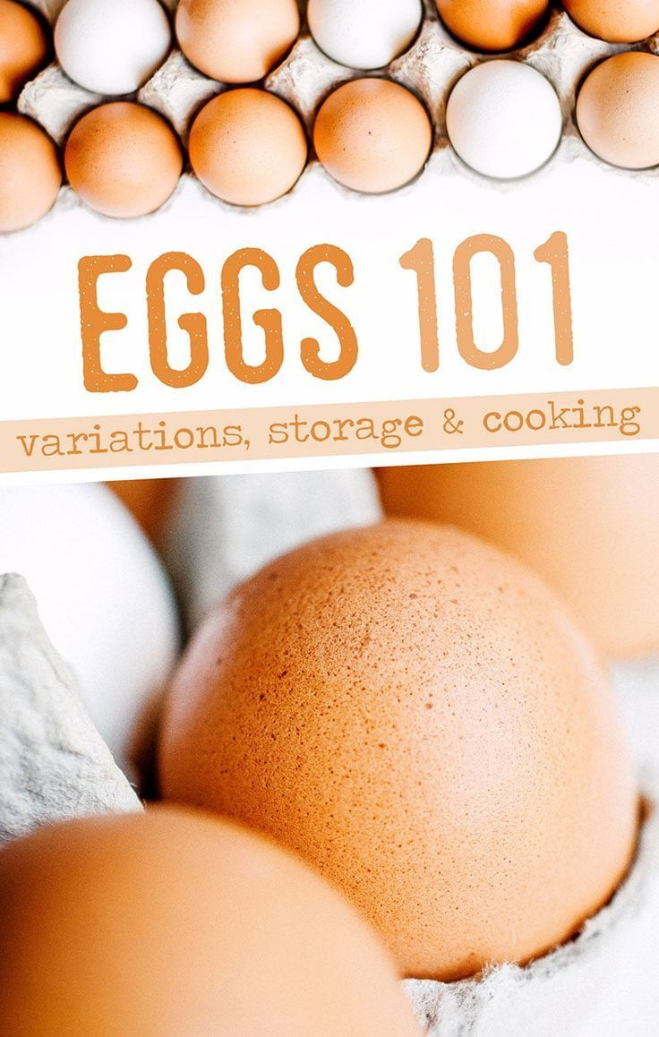 Eggs 101: Everything You Need To Know About Eggs ? in 2020 ...