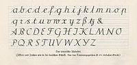 Die Offenbacher Schrift von Rudolf Koch, lateinisches Alphabet, 1927  – Wikipedia