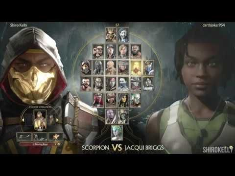 Mortal Kombat 11 : Online Ranked Matches - Scorpion Gameplay