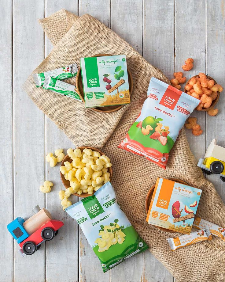 Organic Snacks for Kids: Corn Snacks and Oat Bars